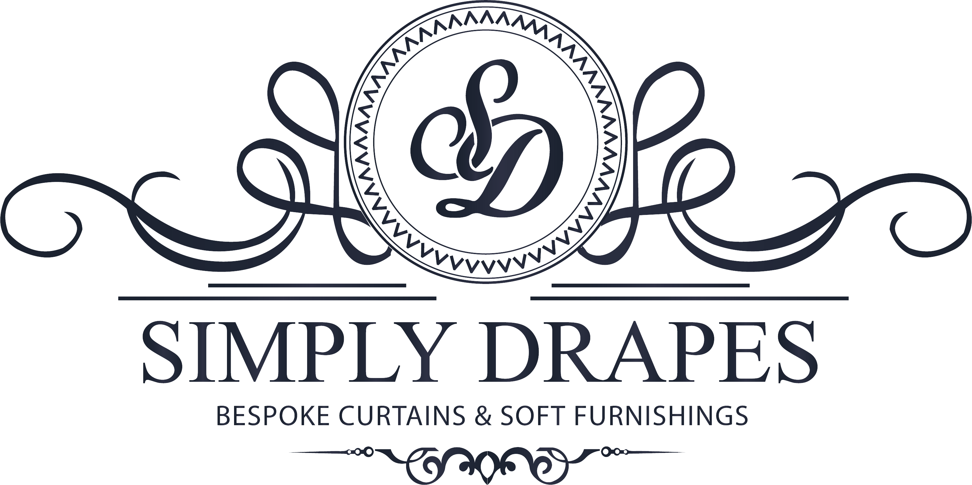Simply Drapes Logo Curtains Blinds Soft Furnishing Upholstery